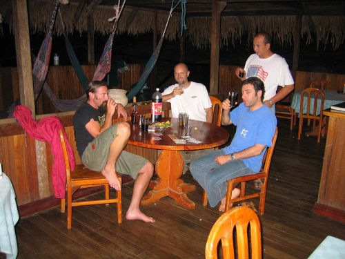 Visiting the Amazon in Ecuador: Great time at the Cuyabeno Lodge when visiting the Amazon in Ecuador.